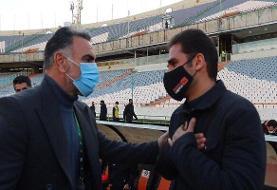 فکری: از صدرنشینی استقلال ناراحتند/ از میلیچ خبر ندارم!