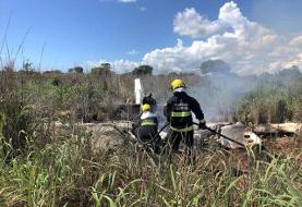 مرگ چهار بازیکن برزیلی به خاطر سقوط هواپیما