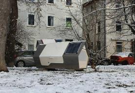 (تصاویر) آشیانه ویژه بیخانمانها در آلمان