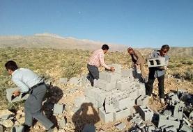 ۶۵ ساخت و ساز غیرمجاز در ری تخریب شد