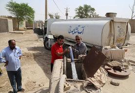 آبفا: آبرسانی به روستای «لات» قزوین با تانکر انجام می شود