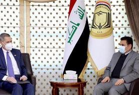 سفیر در عراق آمریکا: واشنگتن تلاش دارد اختلافات خود با ایران را حل کند