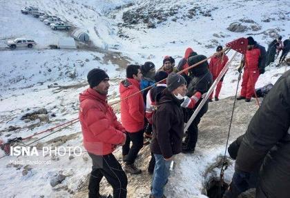خروج اجساد افراد مفقود شده از غار بابااحمد چالدران