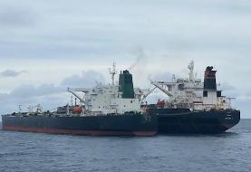 یک نفتکش ایرانی در آبهای اندونزی توقیف شد