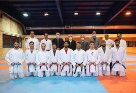 بازدید سرپرست کاروان ایران در المپیک توکیو از اردوی تیم ملی کاراته