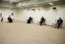 خانواده محسن فخریزاده با رهبری دیدار کردند