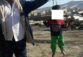 بازداشت کودک آزار در ملایر همدان / زجر کودک با تسبیح (+عکس)