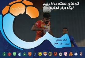 ویدئو / گلهای هفته دوازدهم لیگ برتر فوتبال ایران