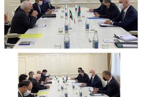 ظریف اعلام کرد: آمادگی ایران برای ورود به حوزه بازسازی مناطق آزاد شده آذربایجان