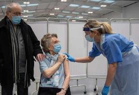 عکس روز| واکسن کرونا برای زوج سالمند