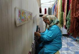 تولید فرش دستباف با نشان جهانی احسان در یزد
