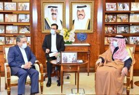 دیدار عراقچی با وزیر امور خارجه کویت