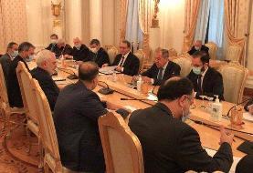مسائل دوجانبه، منطقهای و برجام محور رایزنی ظریف و لاوروف در مسکو