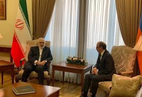 ظریف با وزیر امور خارجه ارمنستان دیدار کرد