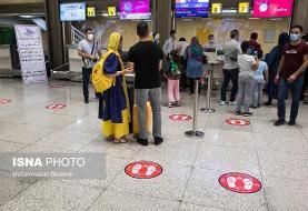 آمادگی برای اجرای پروتکلهای سختگیرانهتر کرونایی در فرودگاهها
