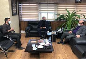 نشست رئیس فدراسیون کشتی با مدیرعامل استقلال برگزار شد