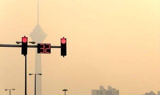 آلودگی شدید هوای تهران در برخی مناطق؛ مردم از خانه خارج نشوند