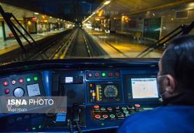 توسعه شبکه برقرسانی به خطوط مترو در ایام دهه فجر