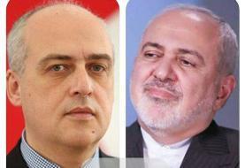 تماس تلفنی وزرای خارجه ایران وگرجستان/بررسی آخرین مناسبات دوجانبه