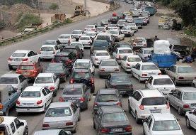 وضعیت ترافیکی جادههای سراسر ایران/ بارش باران در محورهای ۲ استان