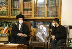 دیدار علیرضا دبیر با مسئولان سیاسی اردبیل برای کمک به کشتی