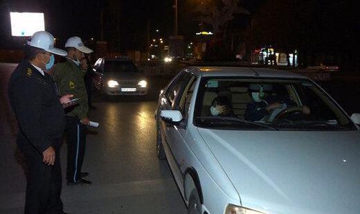 در طرح محدودیتهای ترافیکی دیشب ۴۶ هزار و ۵۰۴ خودرو جریمه شدند