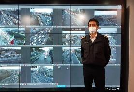 وضعیت ترافیک صبحگاهی در بزرگراه های پایتخت