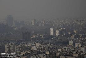 تهرانیها ۱۰۴ روز هوای آلوده تنفس کردند