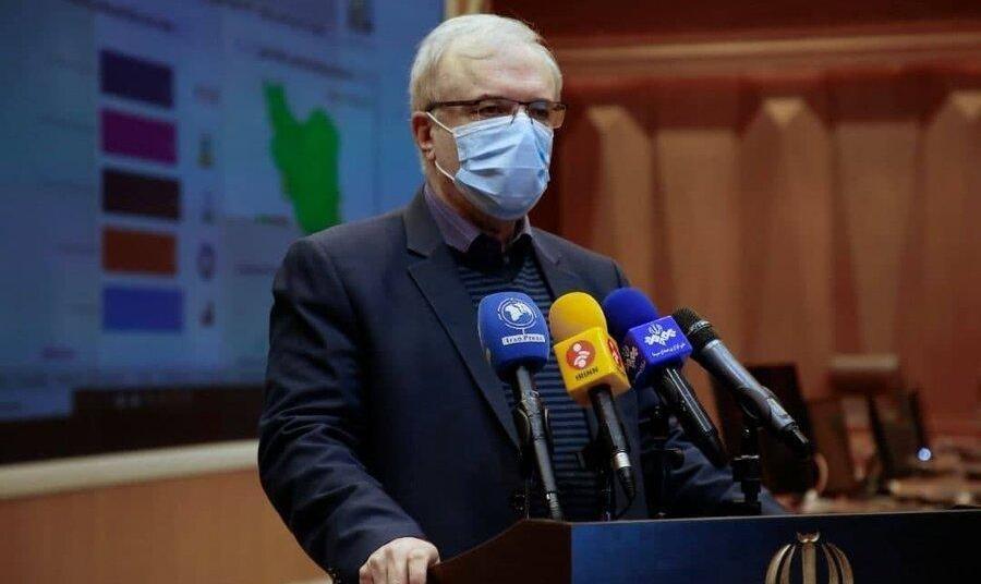 نمکی: مردم کشورهای قدرتمند براثر کرونا قتل عام میشوند، اما مرگومیر در ...