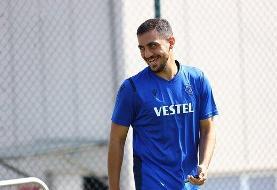 عذرخواهی مجید حسینی از بازیکنان ترابوزان اسپور