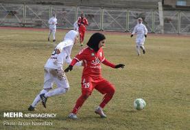 بانوان فوتبالیست کردستانی حریف بوشهری را شکست دادند