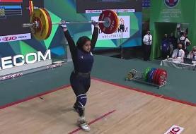 تاریخسازی دختران وزنهبردار؛ ایران سوم جهان شد
