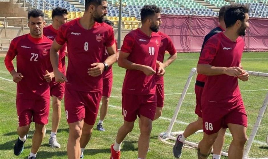پرسپولیسی ها فردا در تهران تمرین میکنند