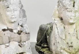 دو مجسمه سنگی ابوالهول، سالها نشسته در باغچهای در بریتانیا، ۱۹۵ هزار پوند به فروش رفتند