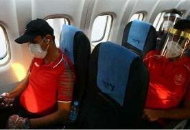 تاخیر در پرواز پرسپولیس به عربستان/بازیکنان از هواپیما پیاده شدند