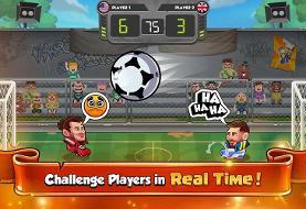 دانلود بازی ورزشی جالب و سرگرم کننده فوتبال کلهای ۲ اندروید!