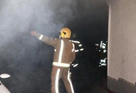 آتش سوزی در بیمارستان دی مشکلی برای بیماران ایجاد نکرد