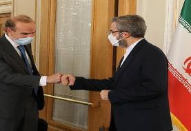 انریکه مورا با علی باقری دیدار کرد