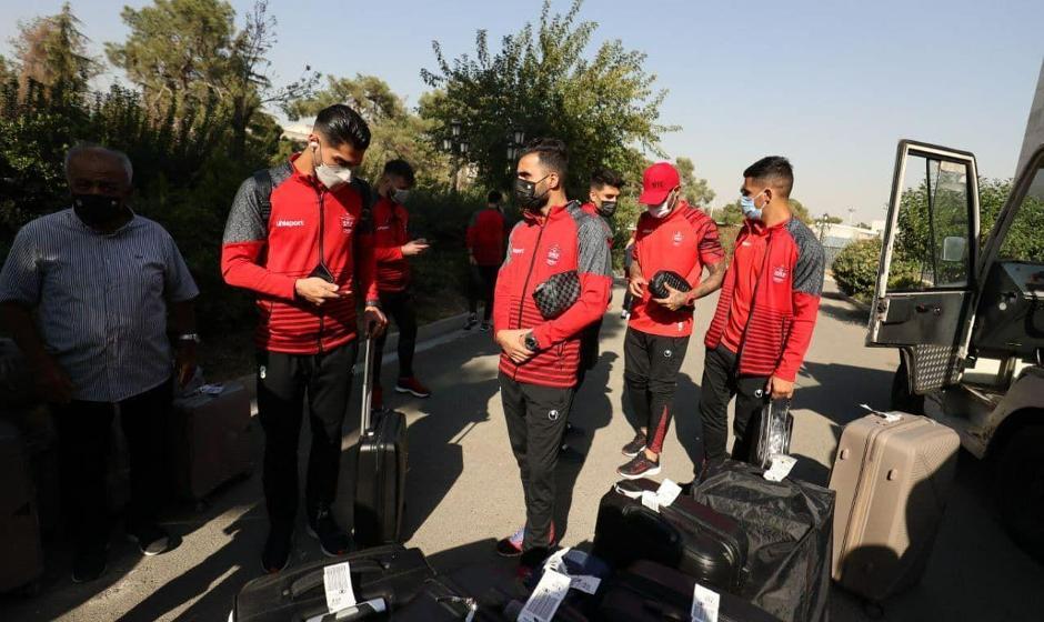 پرسپولیس ۲ بازیکنش را در تهران جا گذاشت