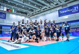 کنفدراسیون والیبال آسیا: فولاد سیرجان در نیمه نهایی شروع قدرتمندی داشت و به فینال رسید