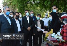 سفر وزیر بهداشت، درمان و آموزش پزشکی به شهرستان لارستان