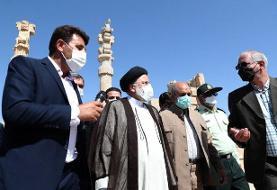ادامه سفر به فارس، حضور در حافظیه و تخت جمشید و تمجید از هنر والای ایرانیان | رئیسی: پیگیر قطع ...