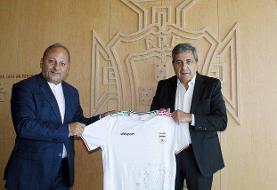 دیدار سفیر ایران با رییس فدراسیون فوتبال پرتغال