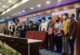 دانش آموزان مدال آور چهاردهمین لیگ علمی پایا در قم تجلیل شدند