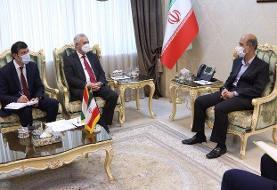 دیدار سفیر تاجیکستان با علی اکبر محرابیان