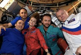 پایان فیلمبرداری «چالش» در فضا| «گروه فیلمساز روسی از ایستگاه فضایی به زمین بازگشتند
