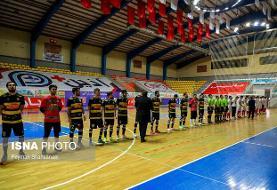 پیروزی پرگل گیتی پسند و سن ایچ در لیگ برتر فوتسال