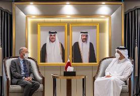 نماینده ویژه آمریکا در امور ایران با وزیر خارجه قطر دیدار کرد