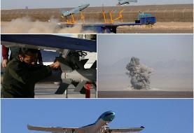 انهدام اهداف سطحی توسط پهپاد کمان-۱۲/ تجهیز کرار به بمبهای ۵۰۰ پوندی و راکت