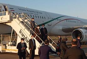 رئیسجمهور وارد پارس آباد شد